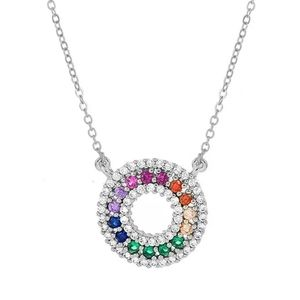 New crystal colorful necklace